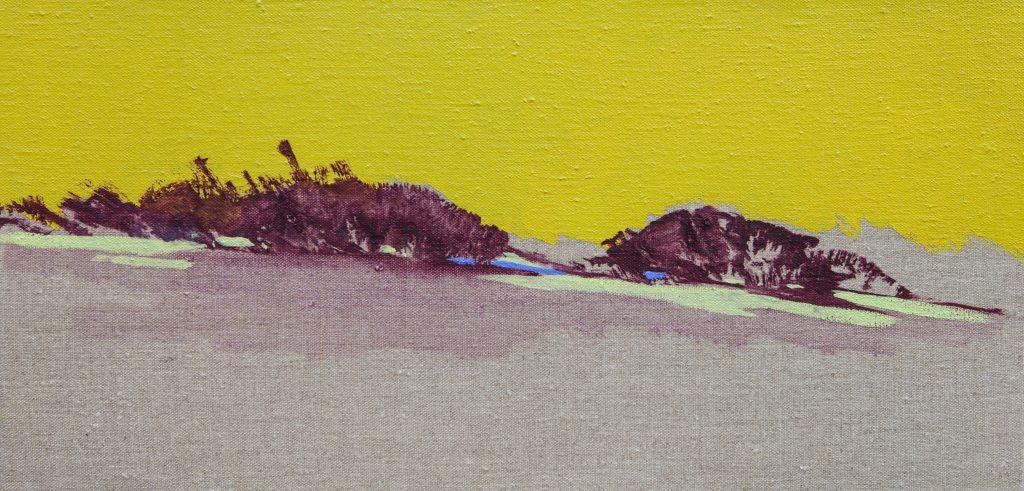 Maria Jose Concha, NoonContemplation II, 2011, oil, original, £500, DECORAZON gallery