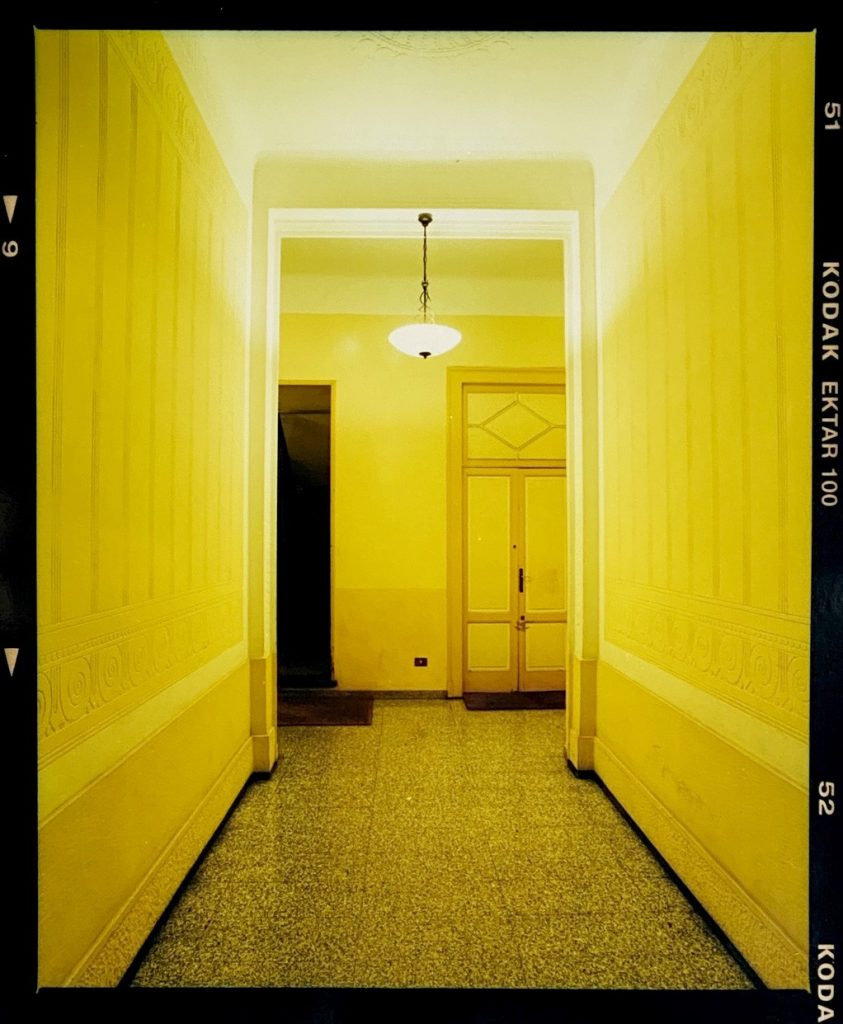Richard Heeps, Yellow Corridor Night, Milan, 2019, photograph, limited edition of 50, £75, Bleach Box