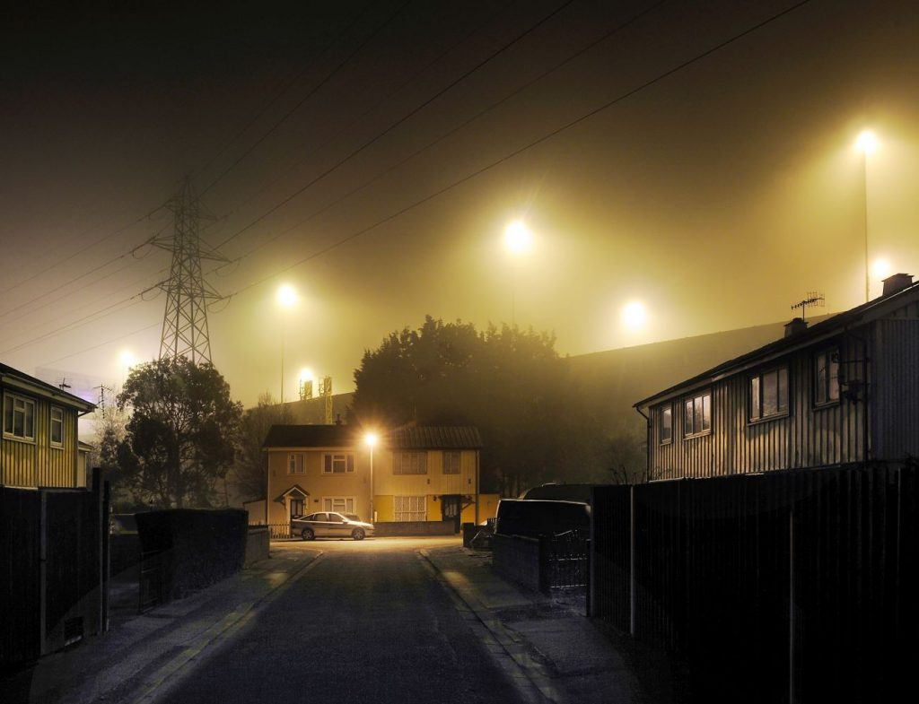 Barry Cawston, Midnight Visitor, 2017, photograph, limited edition of 15, £1,400, The Drugstore Gallery