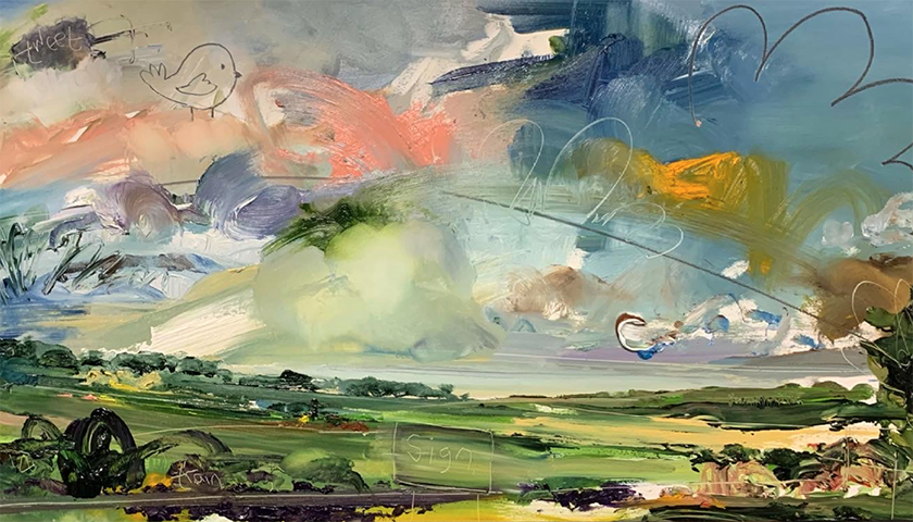 On Relaxation: Michelle Ogundehin's third Flight of Imagination
