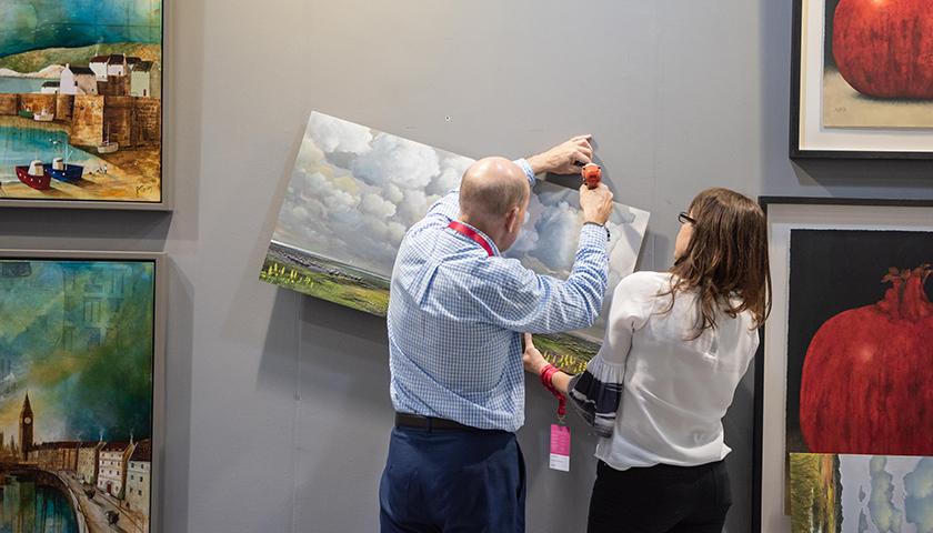 Exhibitors from afar at Affordable Art Fair Hong Kong 2021