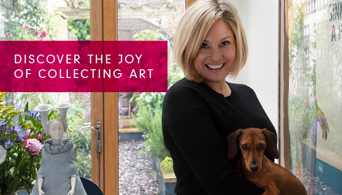 Discover the joy of collecting art